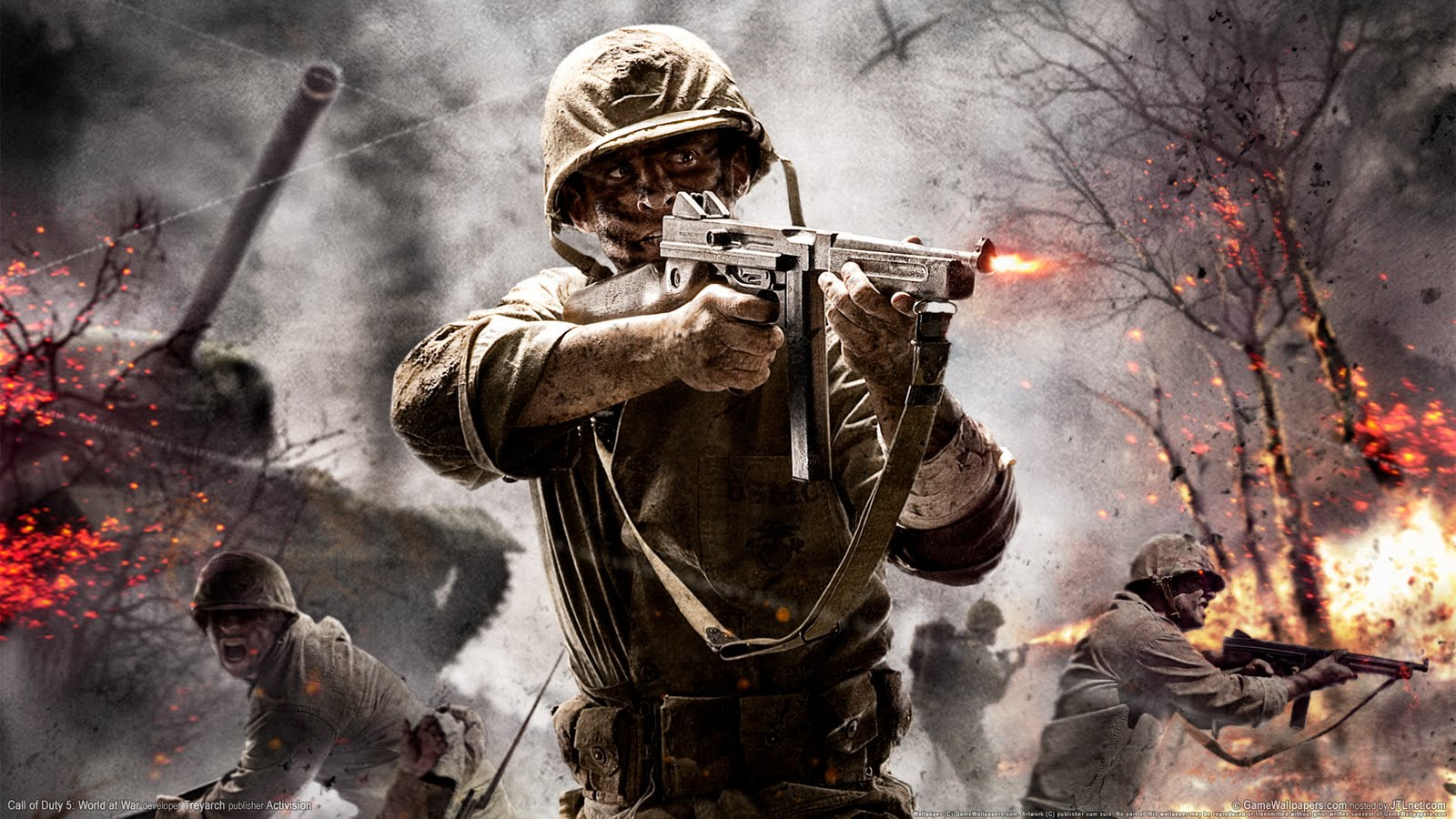 Happy Wallpaper: call of duty world at war background