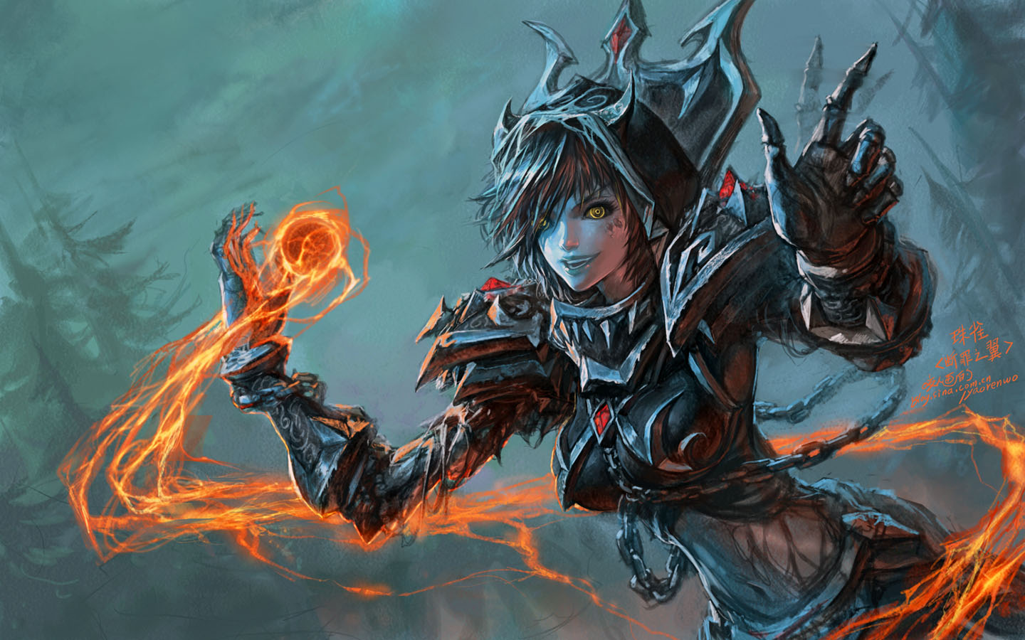 Wow Warlock Wallpaper Sf Wallpaper