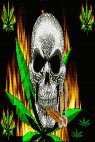 Download Skull Weed Live Wallpaper APK 1 0 - Only in DownloadAtoZ