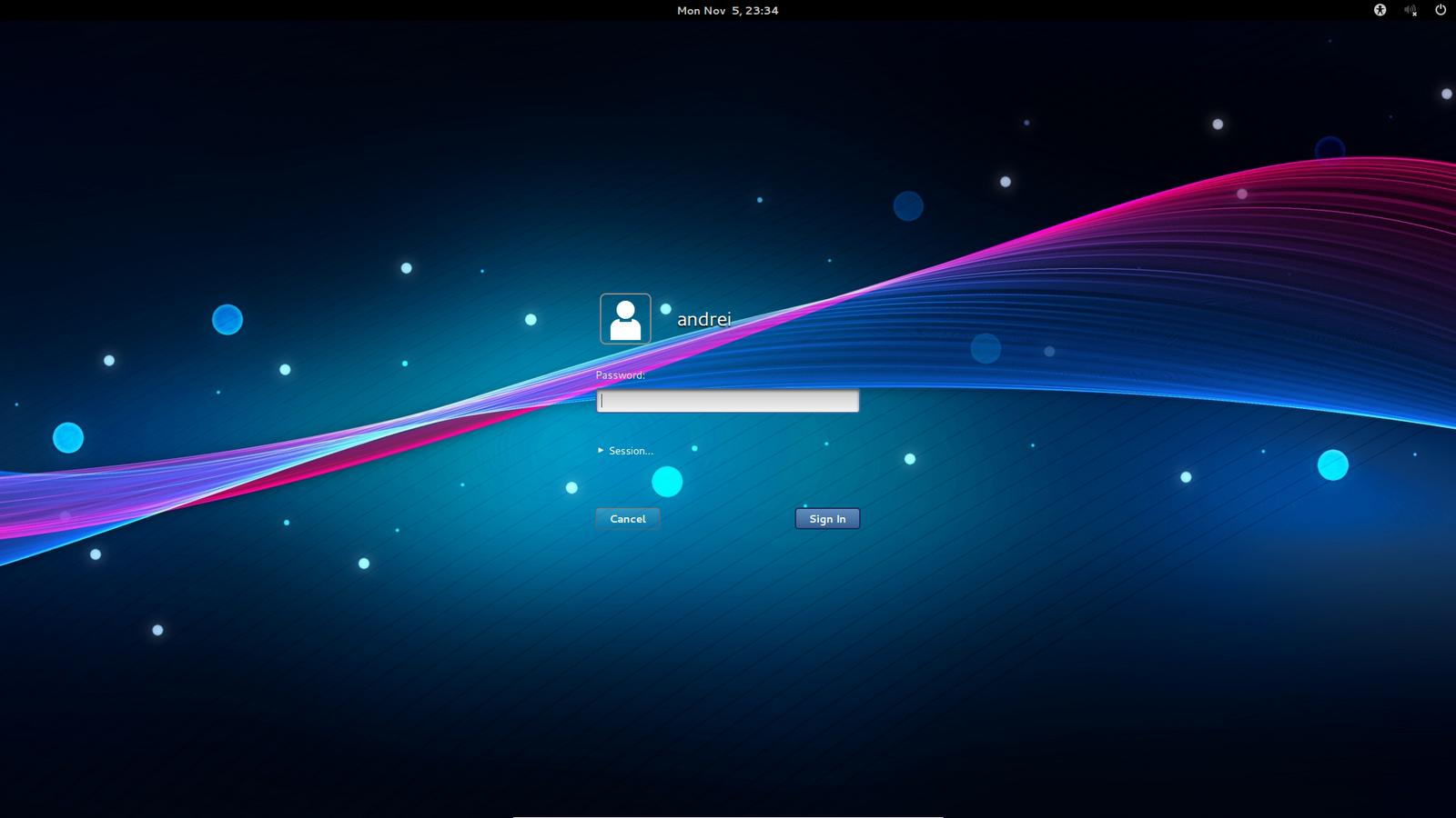 Windows 7 lock screen wallpaper