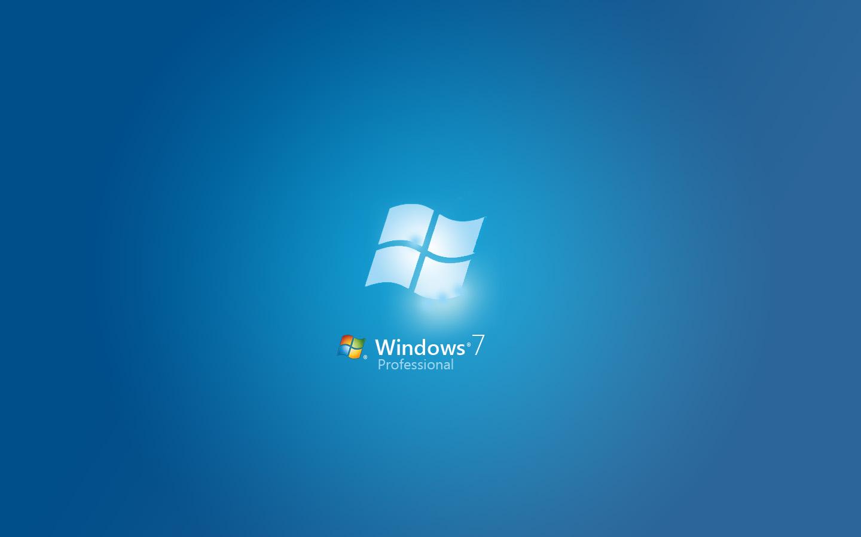Windows 7 Blue Background - WallpaperSafari