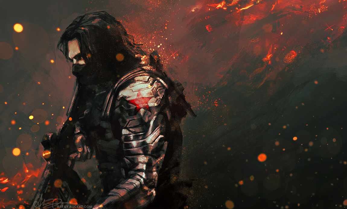 winter soldier wallpaper - sf wallpaper