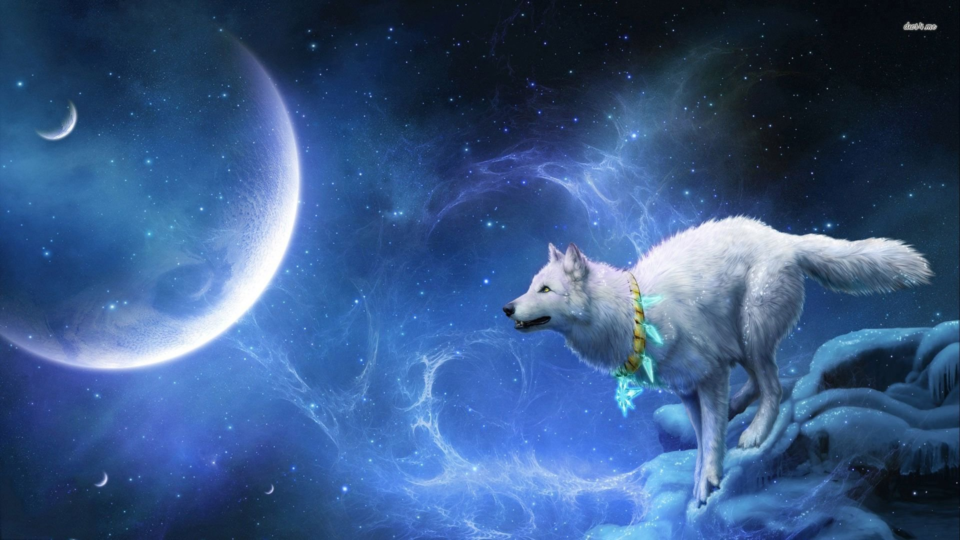 Wolf Moon Wallpaper Sf Wallpaper