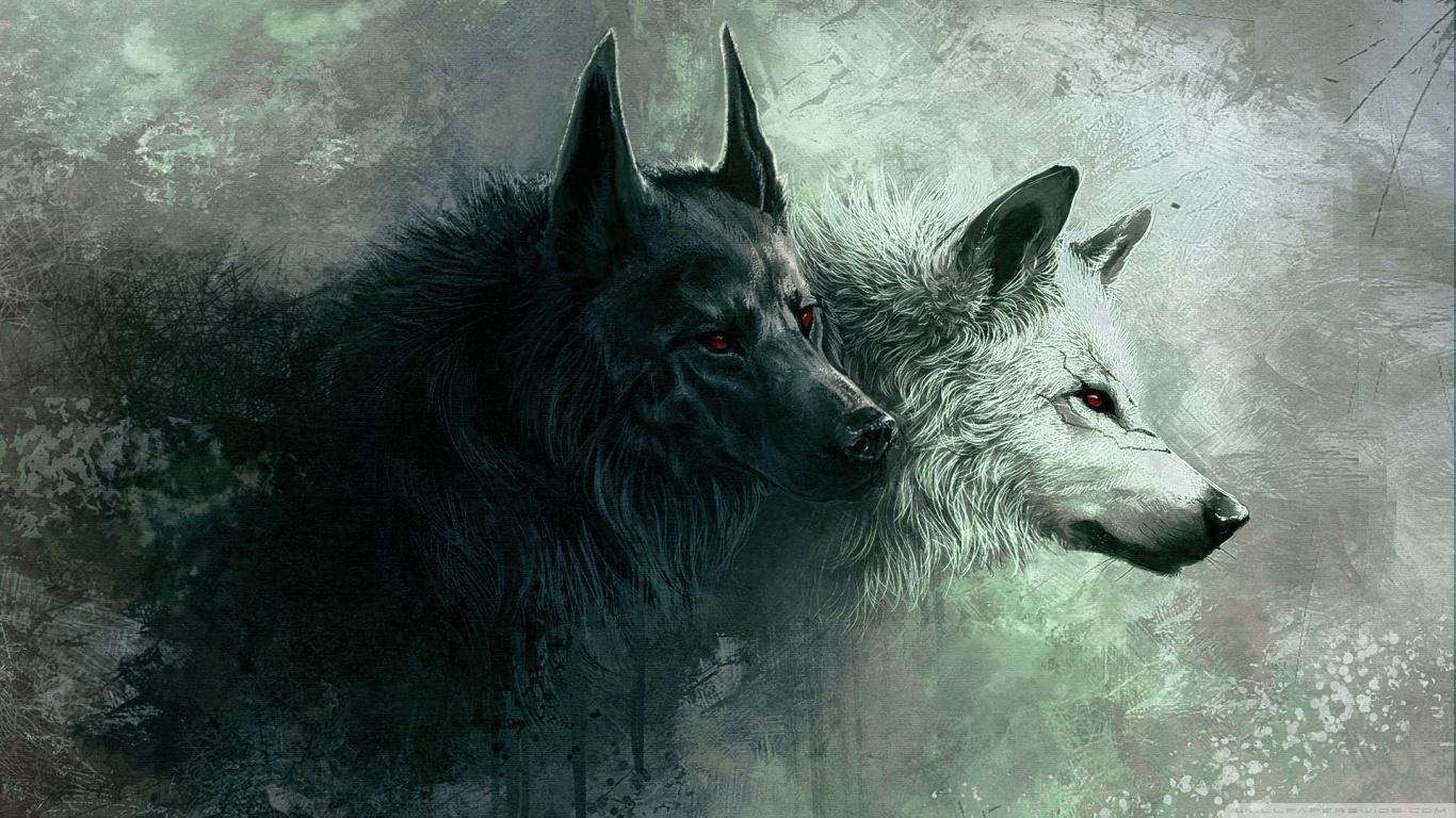 Wolf HD desktop wallpaper : High Definition : Fullscreen : Mobile