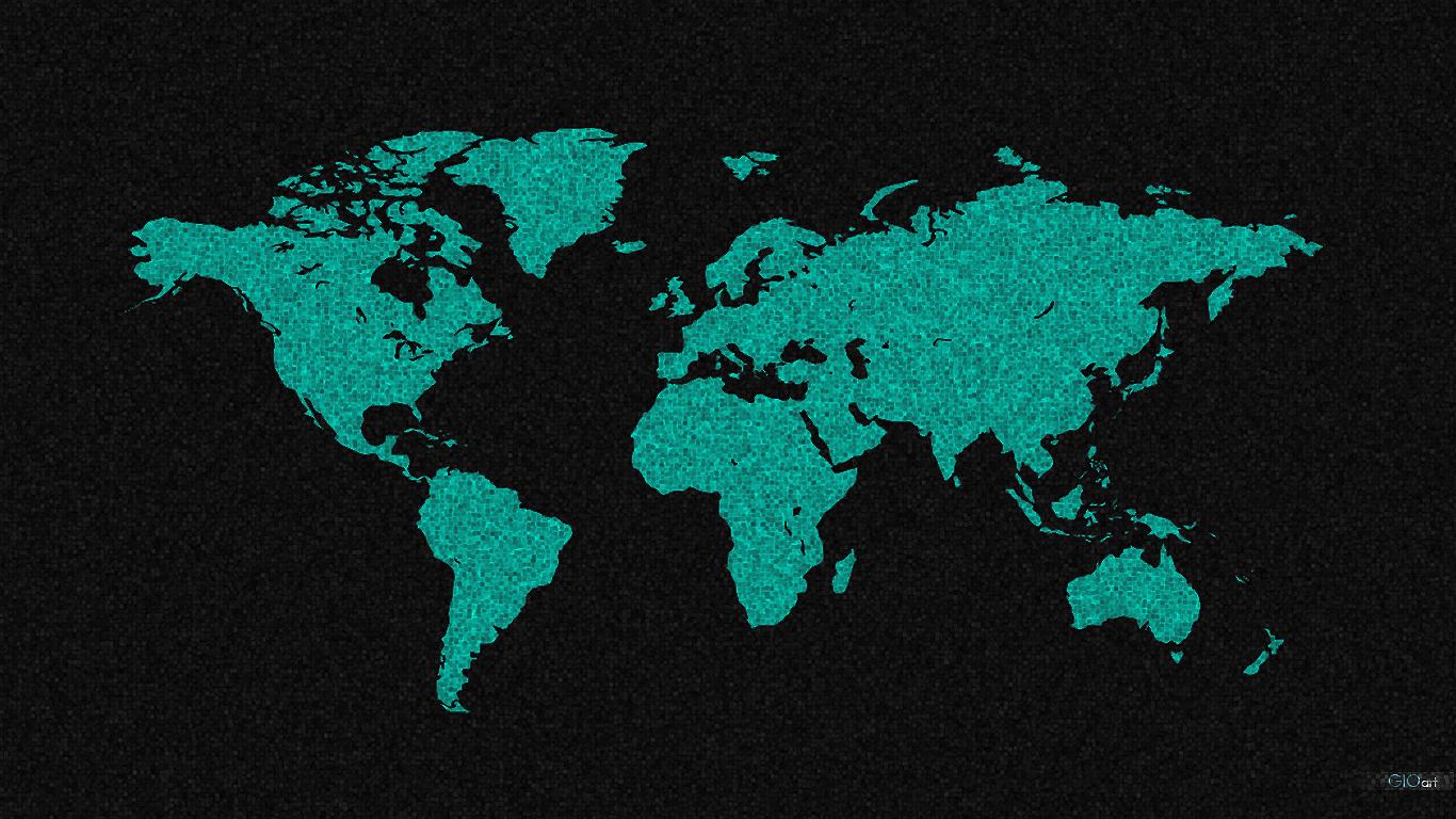 World Map Wallpaper Sf Wallpaper
