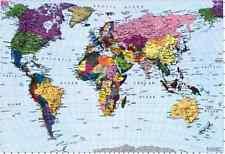 World map wallpaper sf wallpaper world map wallpaper ebay gumiabroncs Images