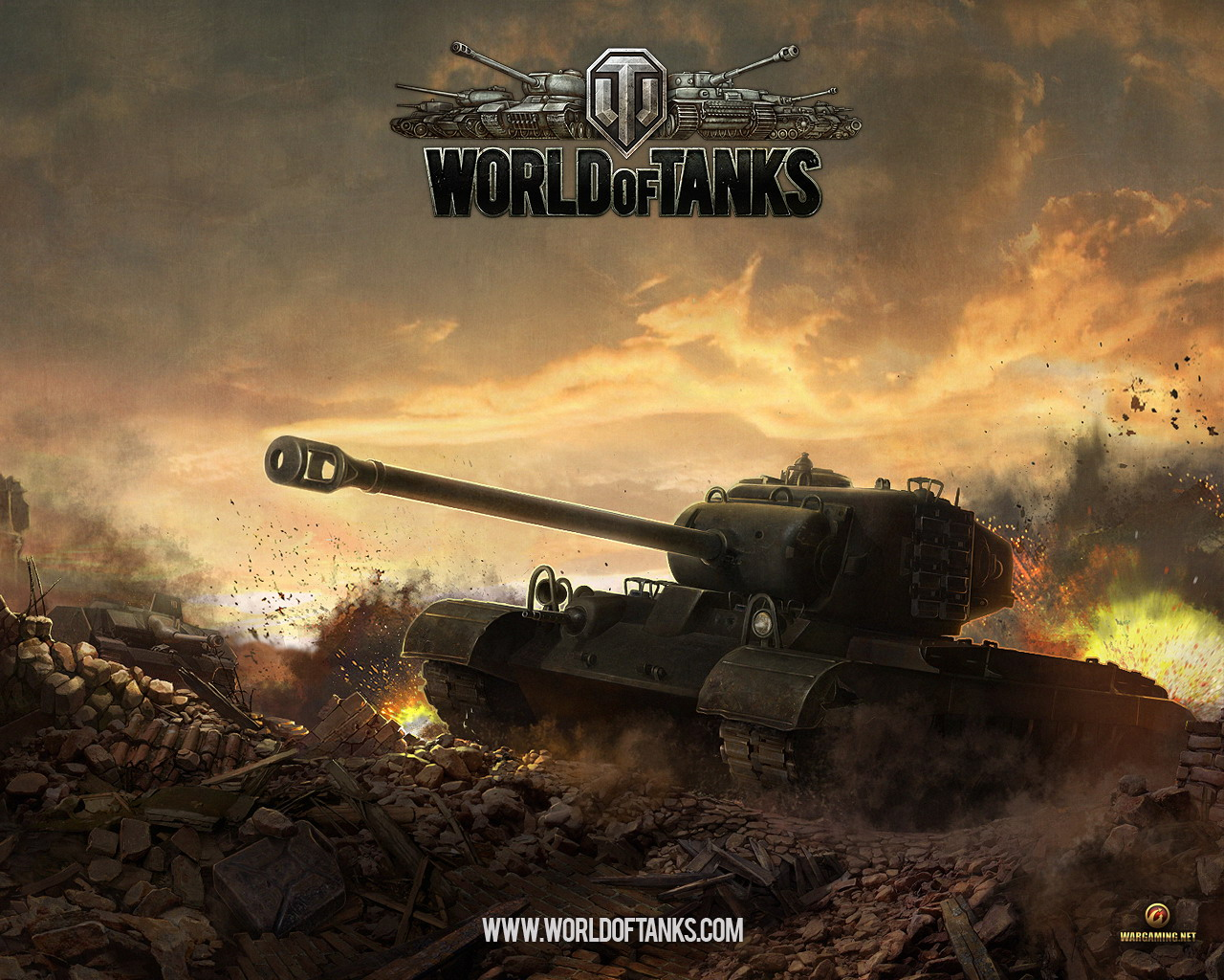 World of Tanks - Wallpaper