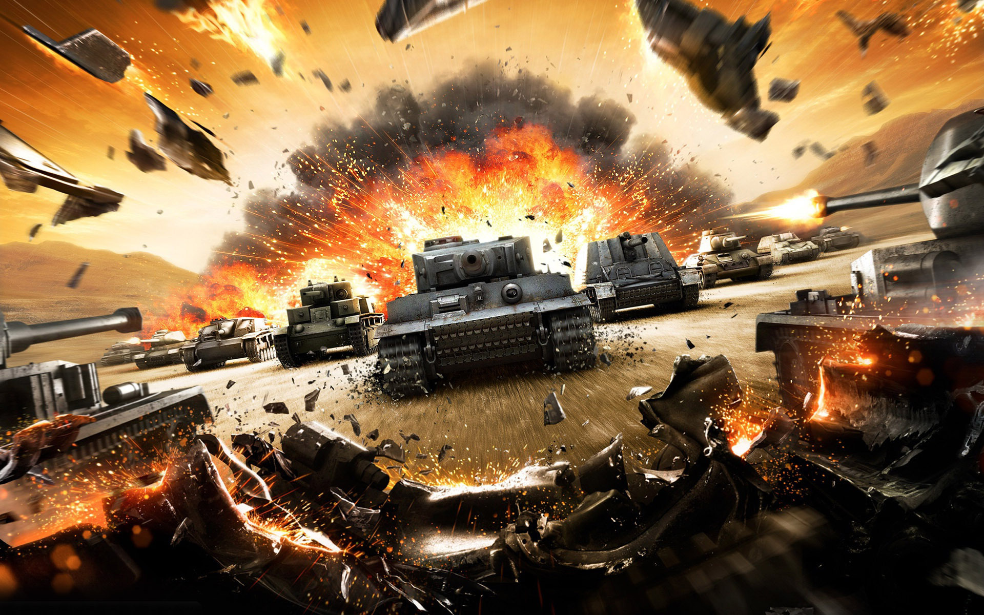 World Of Tanks Wallpaper 9099 1920x1200 - uMad com