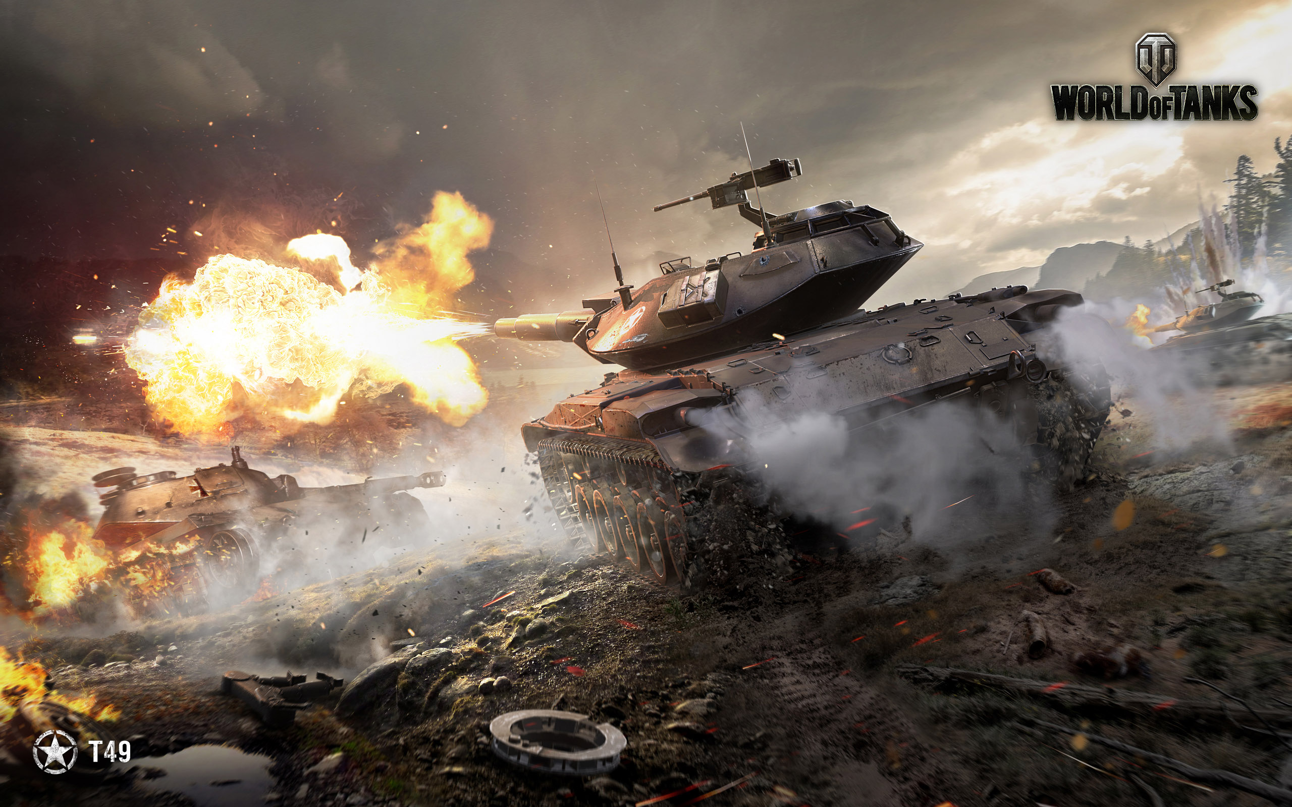October Wallpaper | General News | World of Tanks