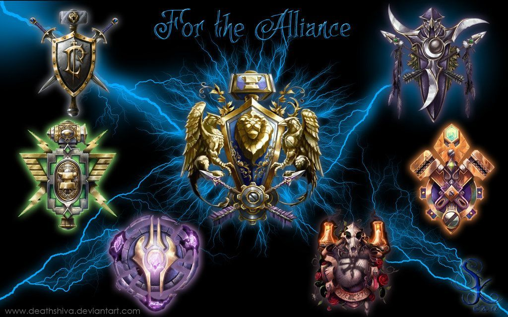 World Of Warcraft Alliance Wallpaper Sf Wallpaper