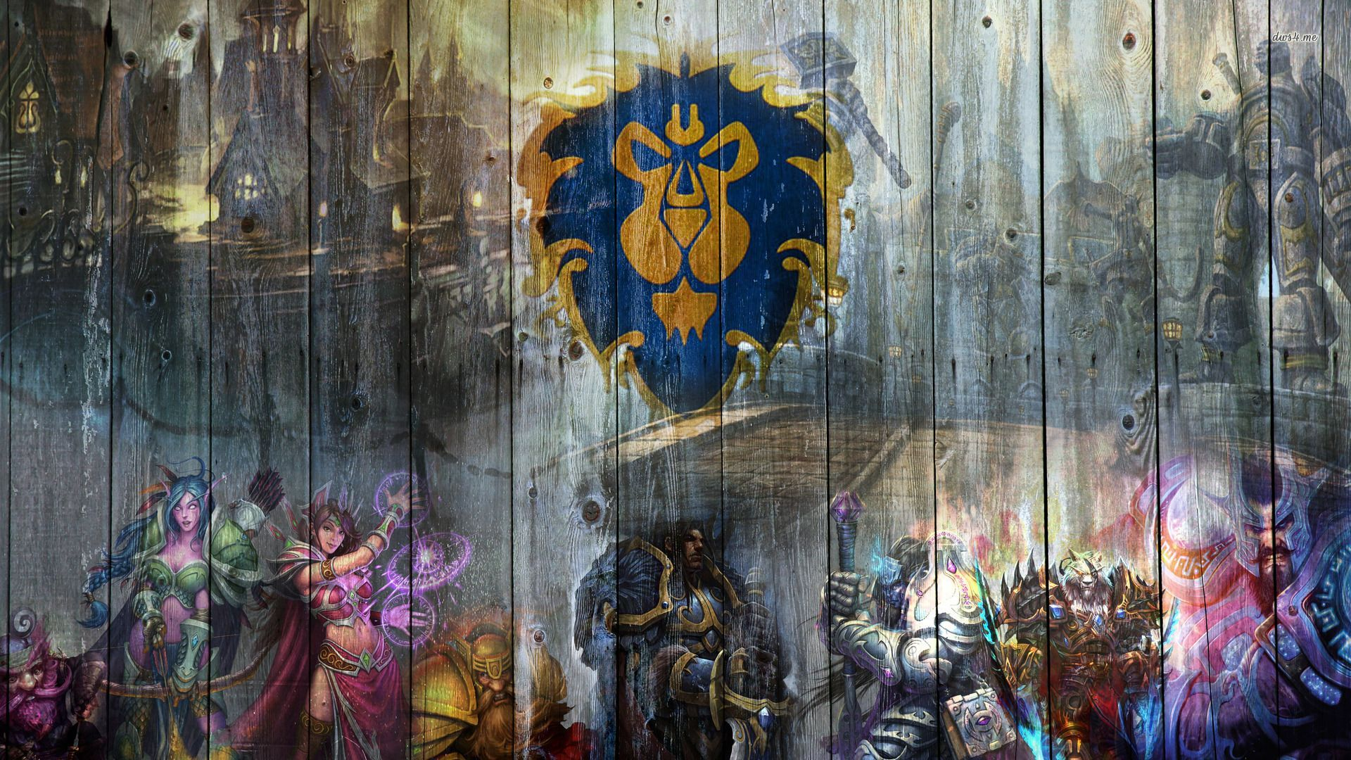 world of warcraft alliance wallpaper - sf wallpaper
