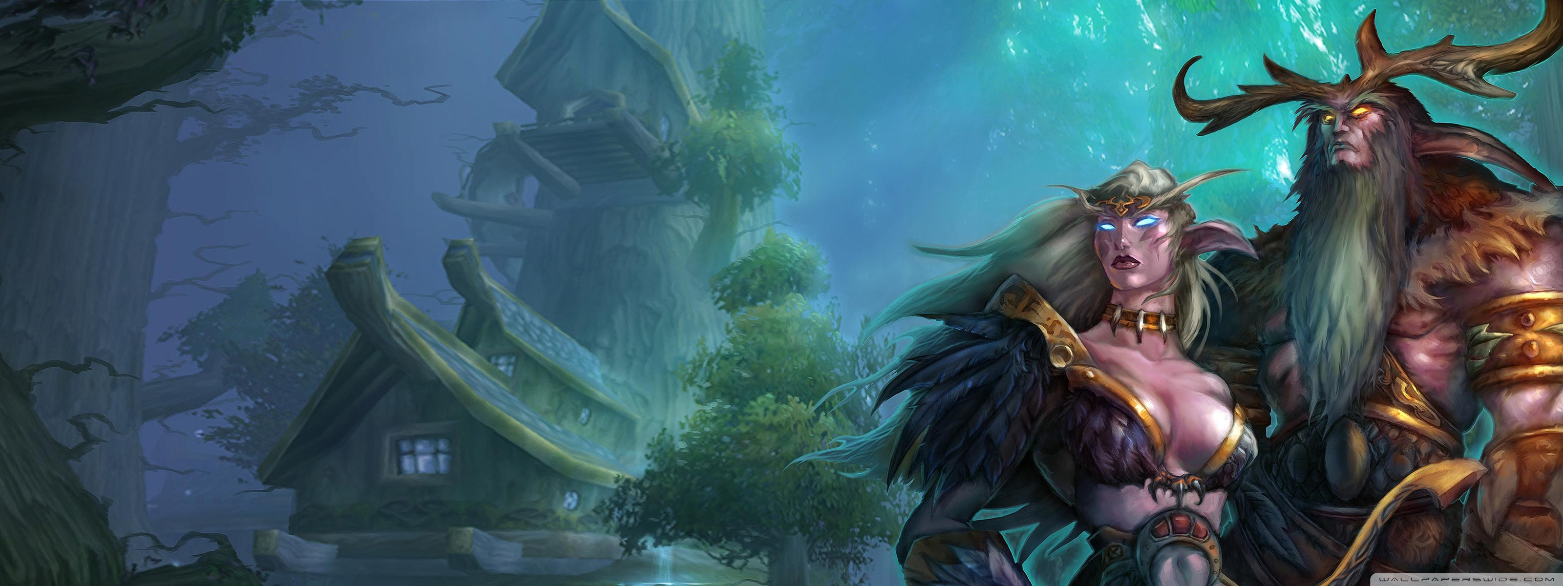 World Of Warcraft HD desktop wallpaper : Widescreen : High