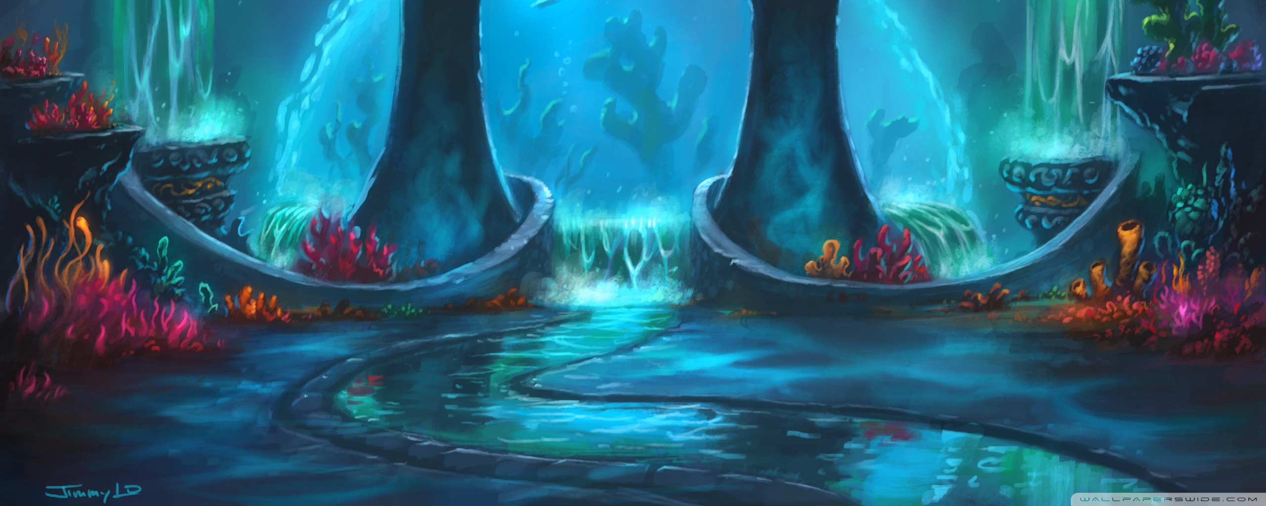 World Of Warcraft Cataclysm Game HD desktop wallpaper : Widescreen