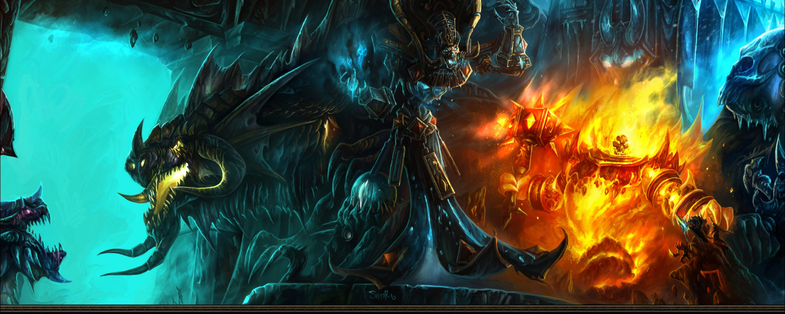 World Of Warcraft Dual Monitor Wallpapers - WallpaperPulse