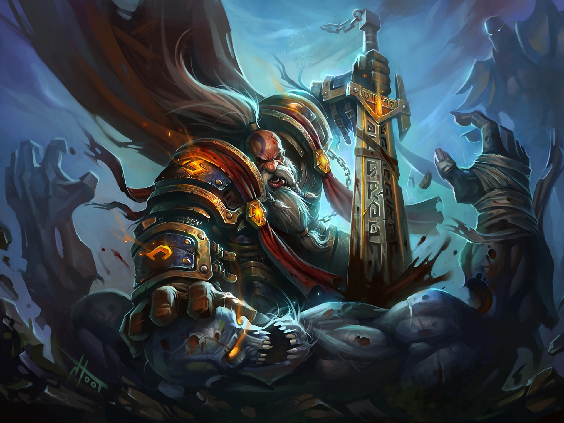 world of warcraft paladin wallpaper - sf wallpaper