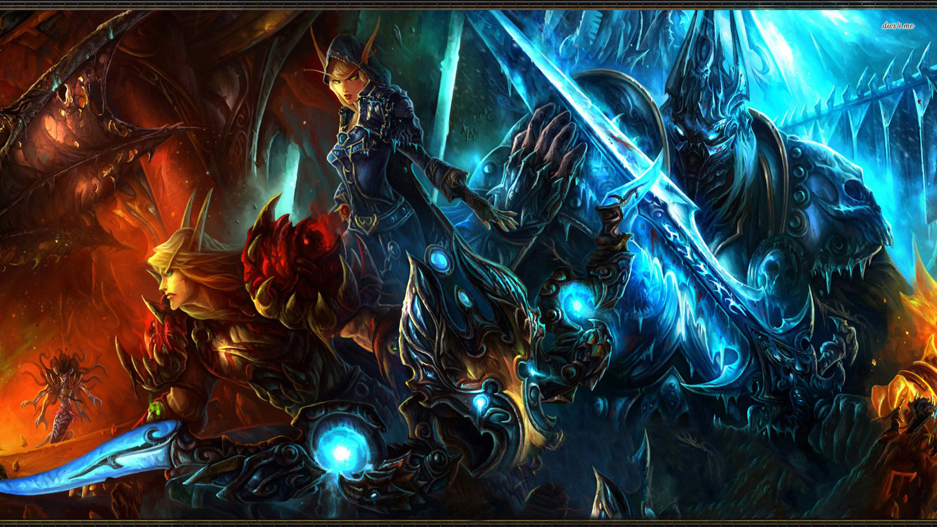 World Of Warcraft Wallpapers 1920x1080 Group (0+)
