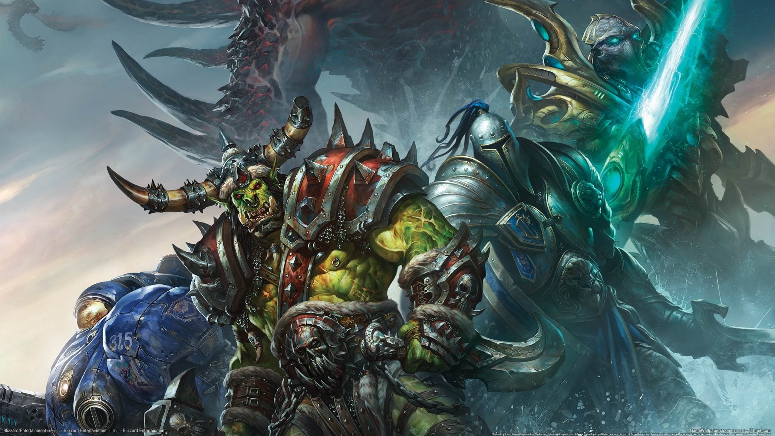 world of warcraft warrior wallpaper - sf wallpaper