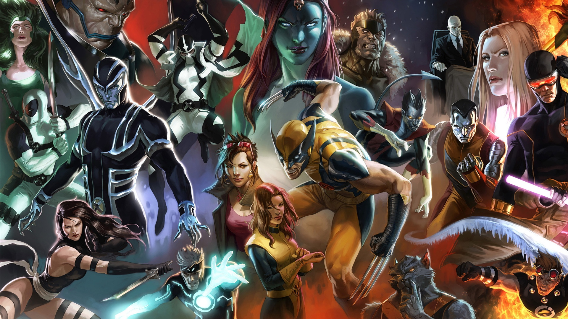 X Men Comic Wallpaper - WallpaperSafari
