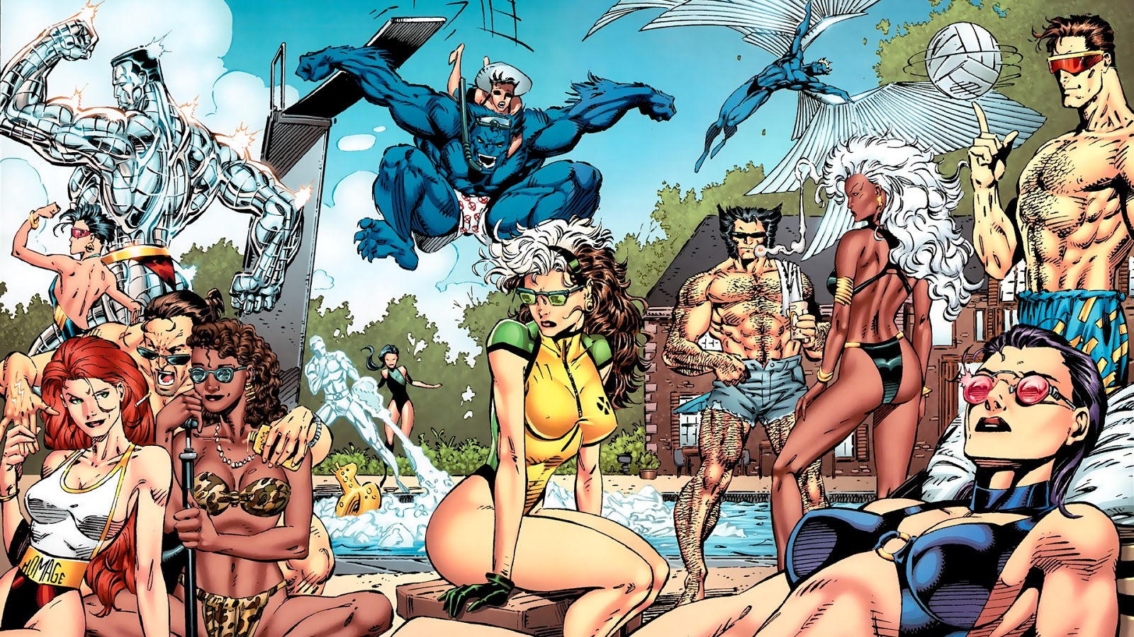 X Men Comic Wallpaper, PC X Men Comic Superb Pics (NMgnCP com)
