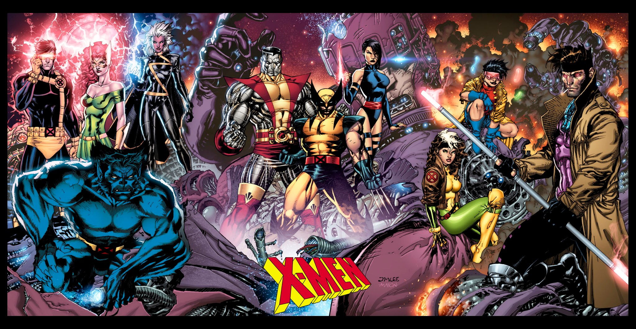 X Men Comic Wallpaper Group (0+)