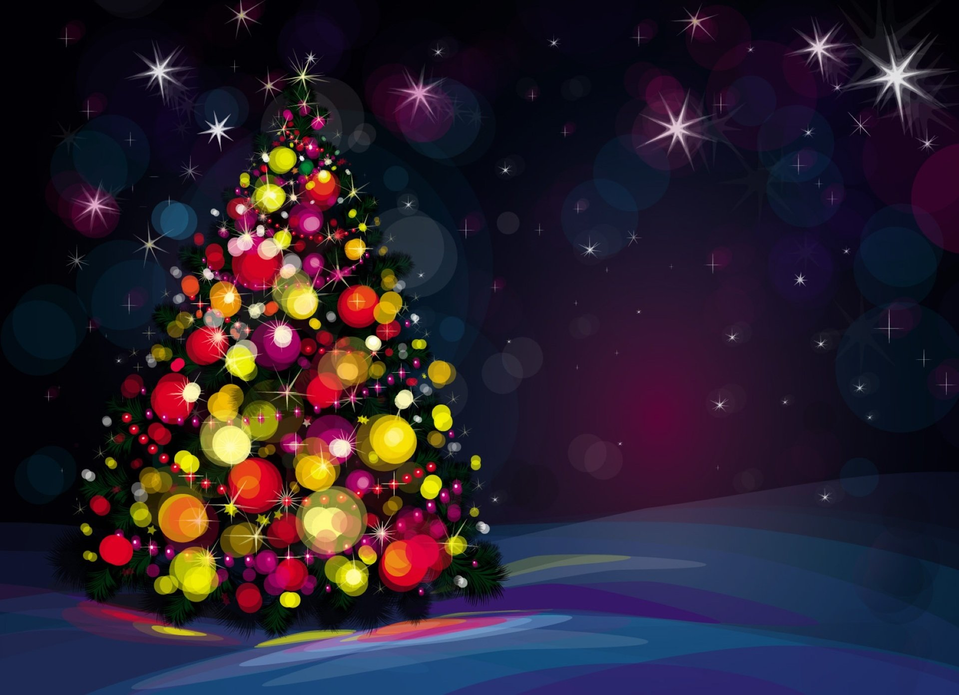 xmas tree hd wallpaper - sf wallpaper