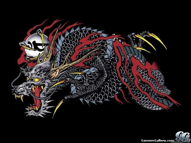 Тату якудза дракон фото