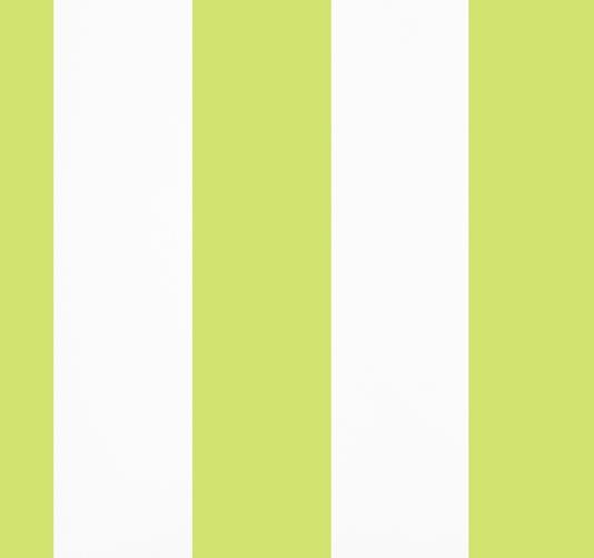Wide Stripe Green Wallpaper