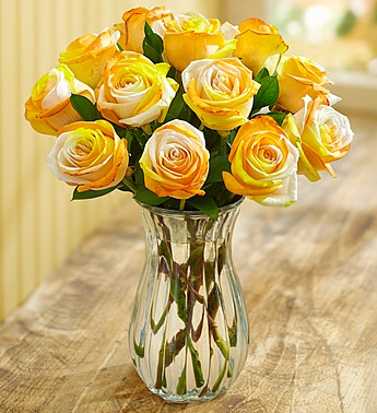 The Meanings of Yellow (Gold) Roses from RoseforLove com