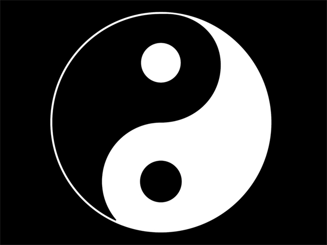 Ying Yang Wallpaper - WallpaperSafari