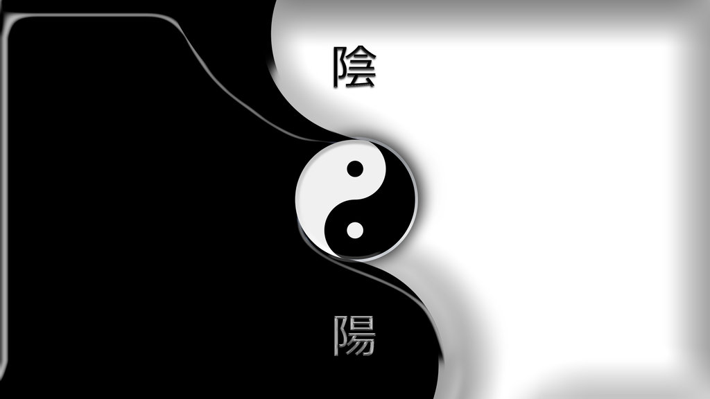 Yin Yang Wallpaper by Mr123Spiky on DeviantArt