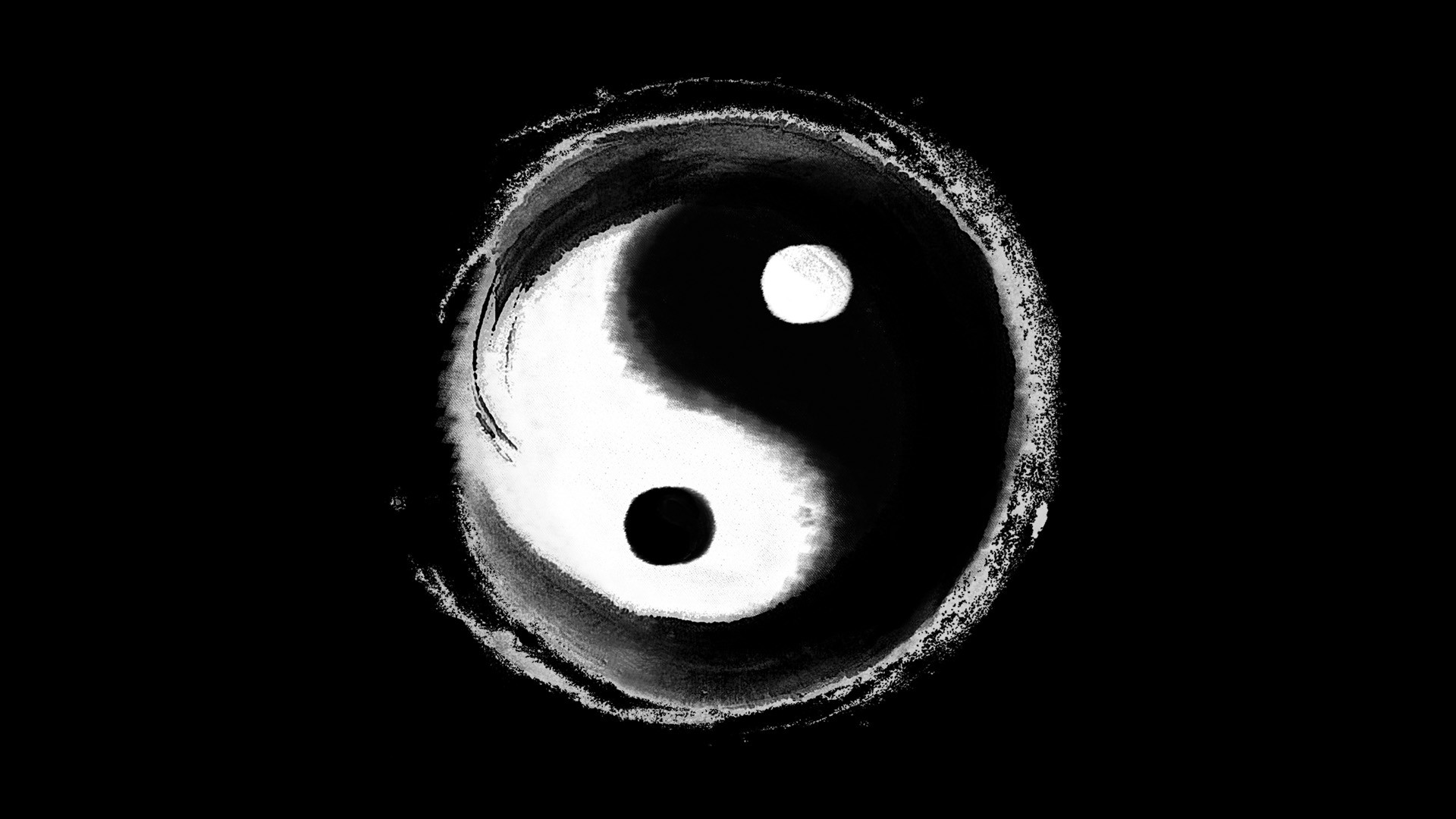 Yin Yang Wallpapers - WallpaperSafari