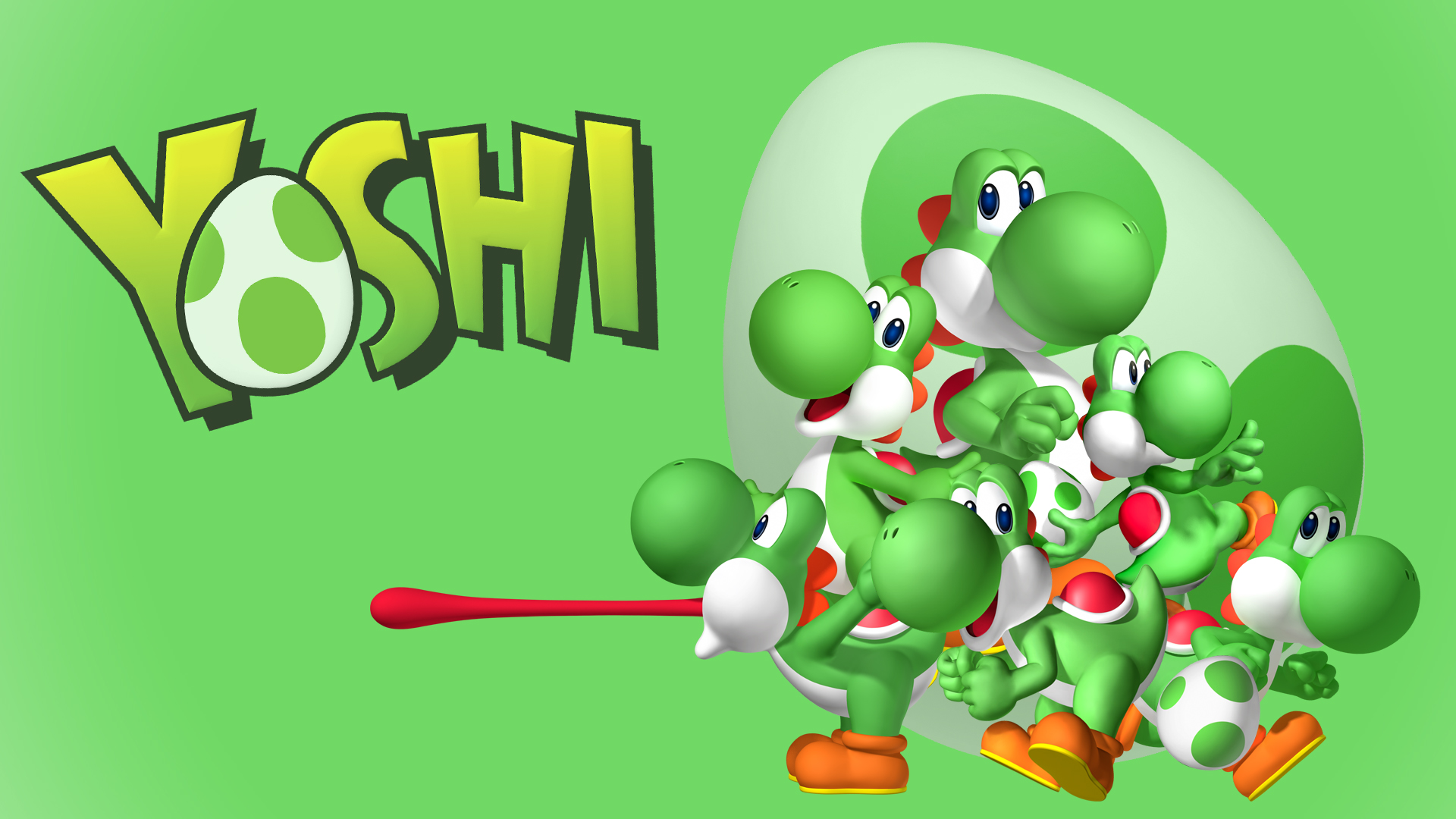 HD Yoshi Wallpaper - WallpaperSafari
