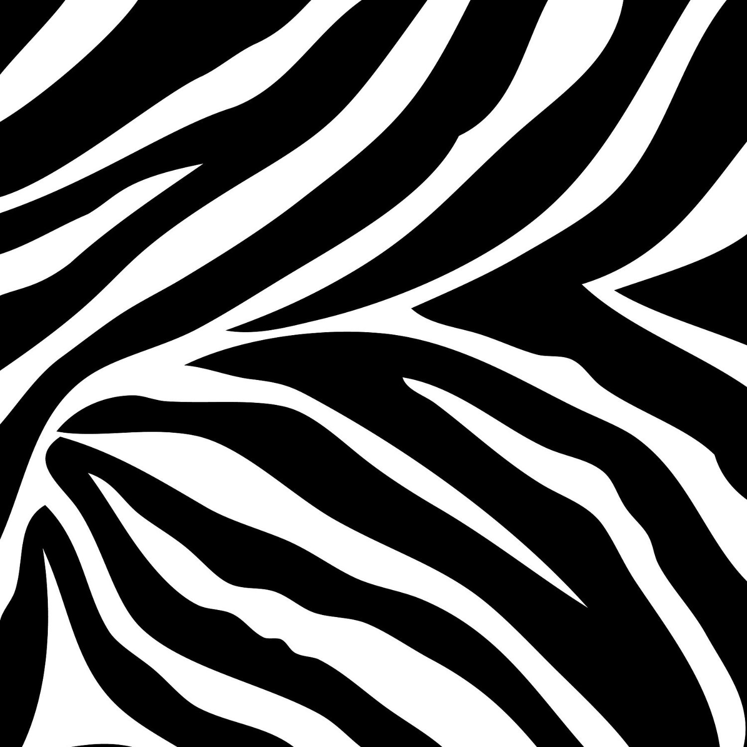Zebra Print Wallpaper - Borders - Cutouts - Wallpaper & Border