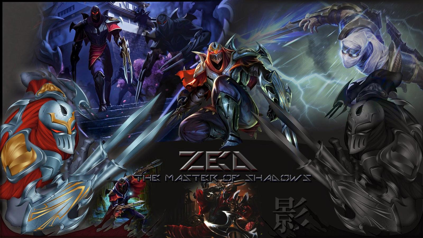 Zed League Of Legends Wallpaper Desktop