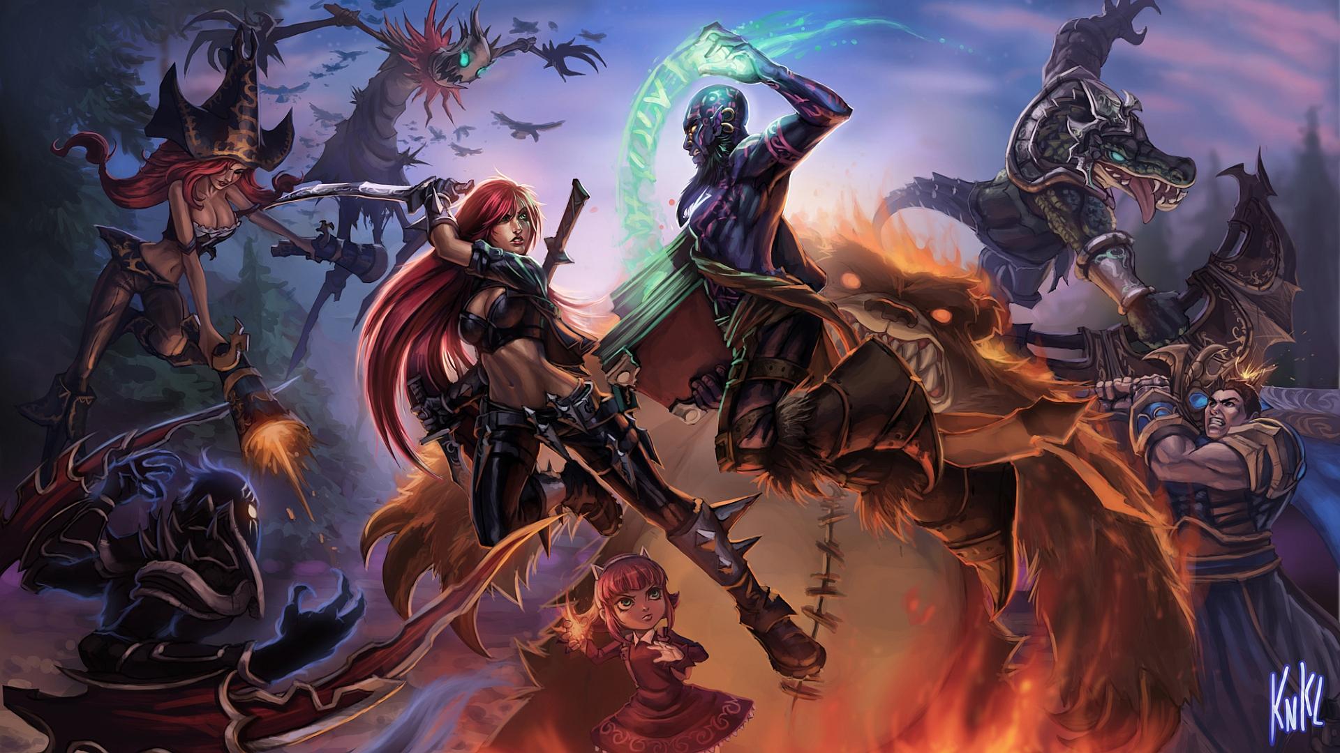 44 Garen (League Of Legends) HD Wallpapers | Backgrounds