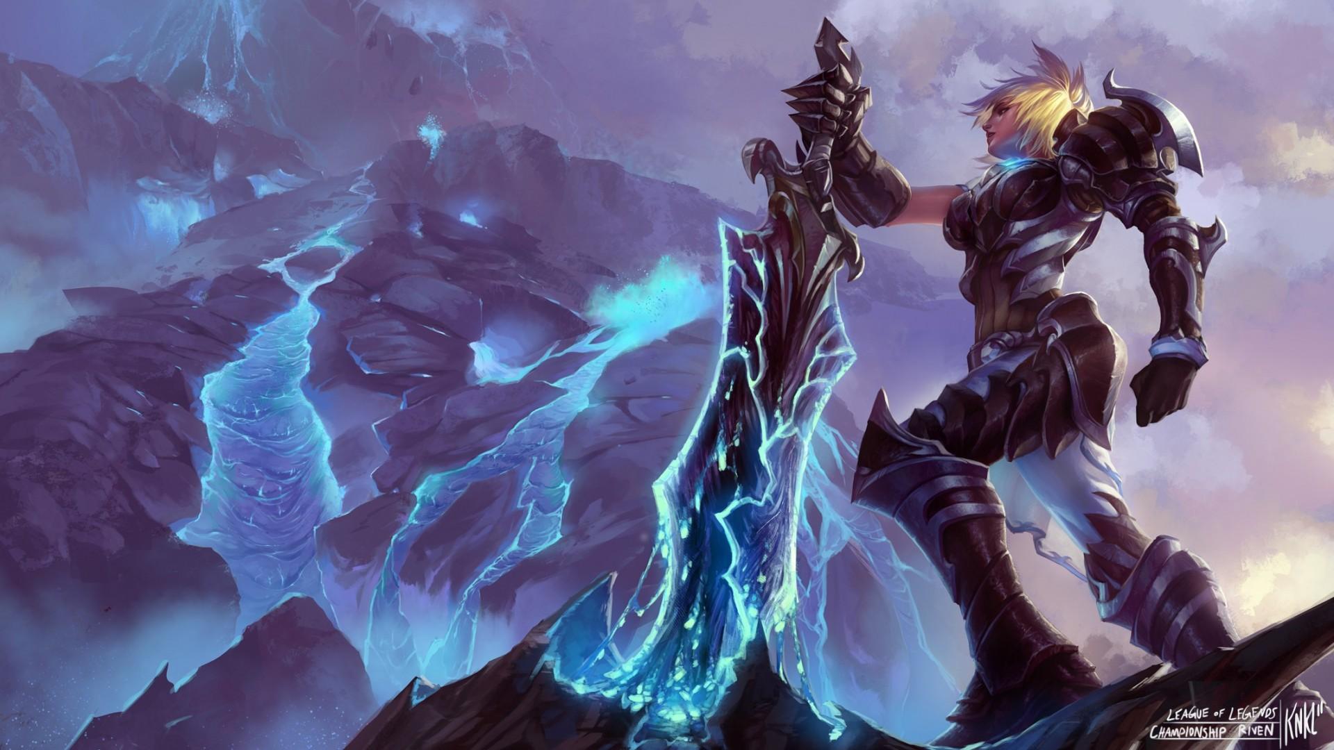 Championship Riven Wallpaper - League of Legends Wallpapers