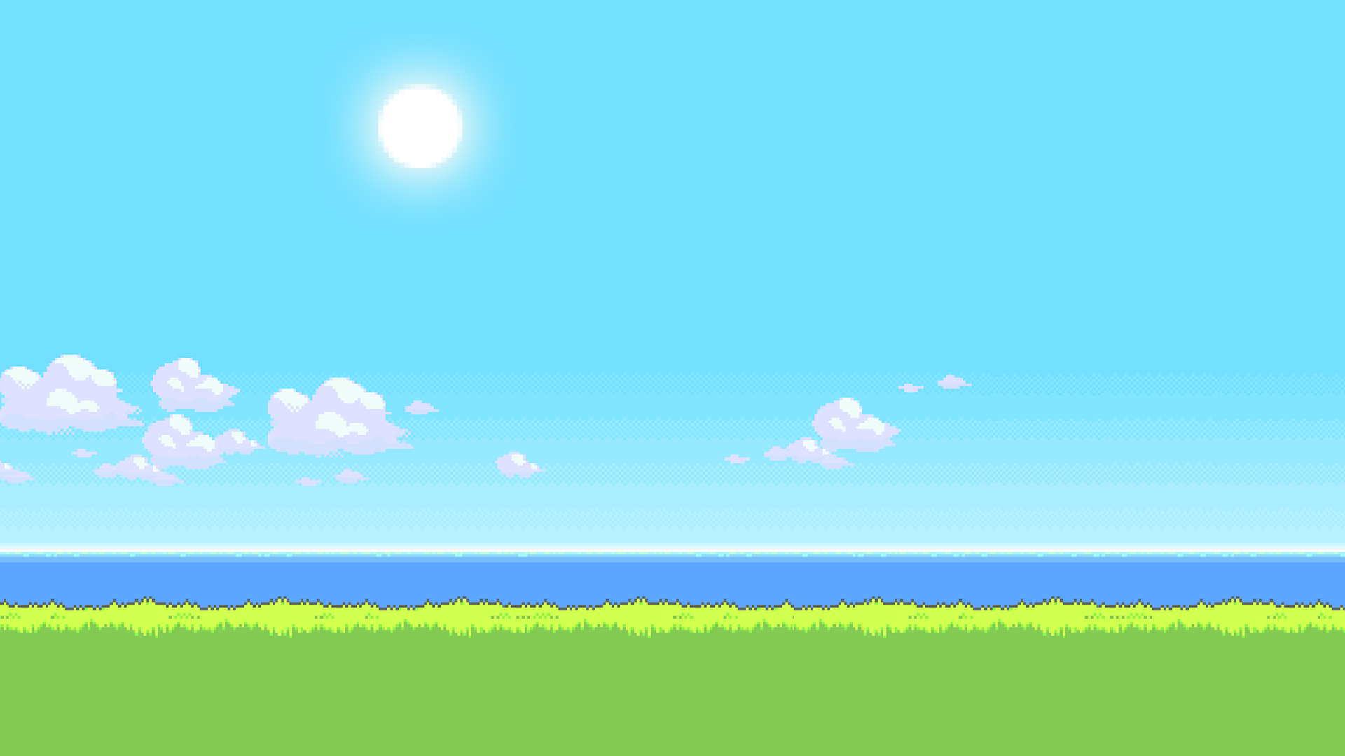 UPDATE: New version of the '8Bit Day' Wallpaper Set  Pixel