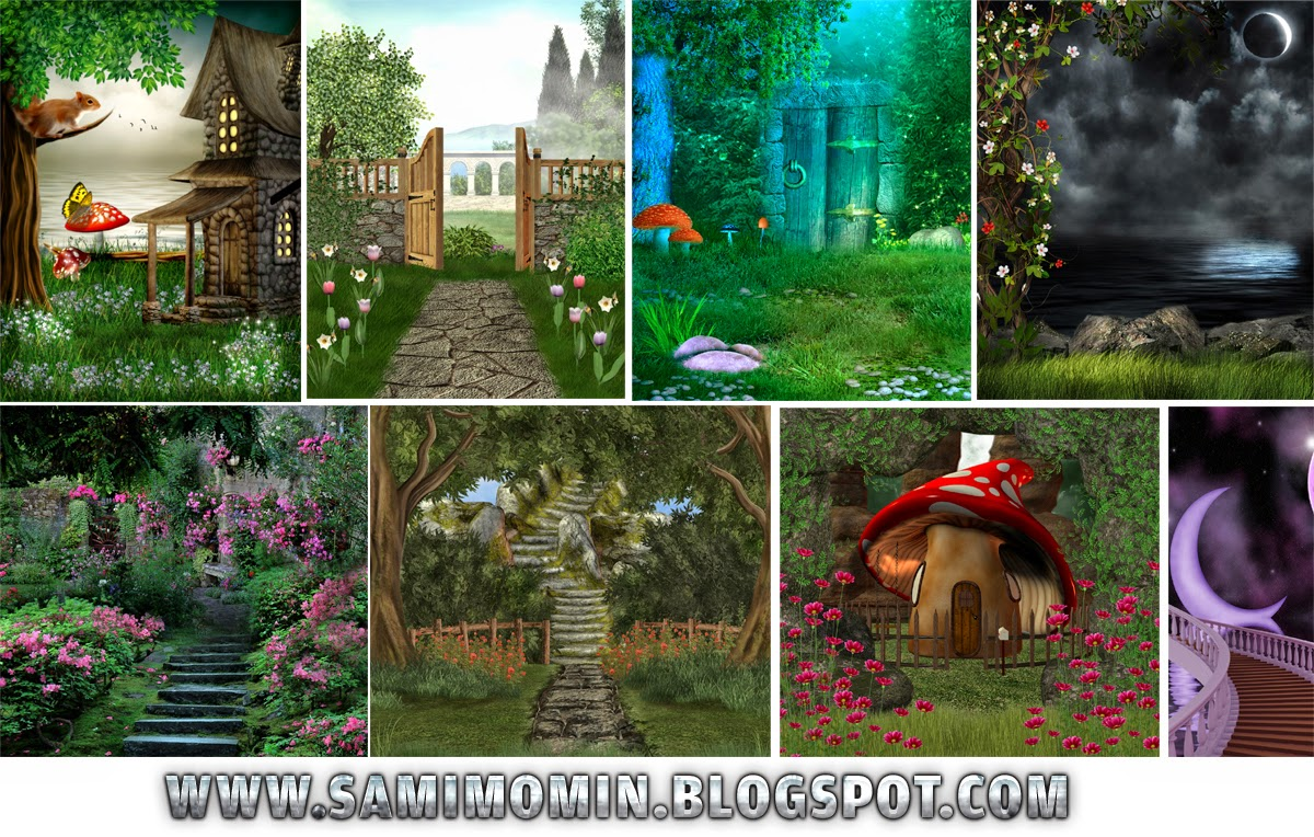 Fabulous fantasy backgrounds for Adobe Photoshop | Software