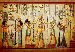 Ancient Egyptian History Art 3D Full Wall Mural Photo Wallpaper