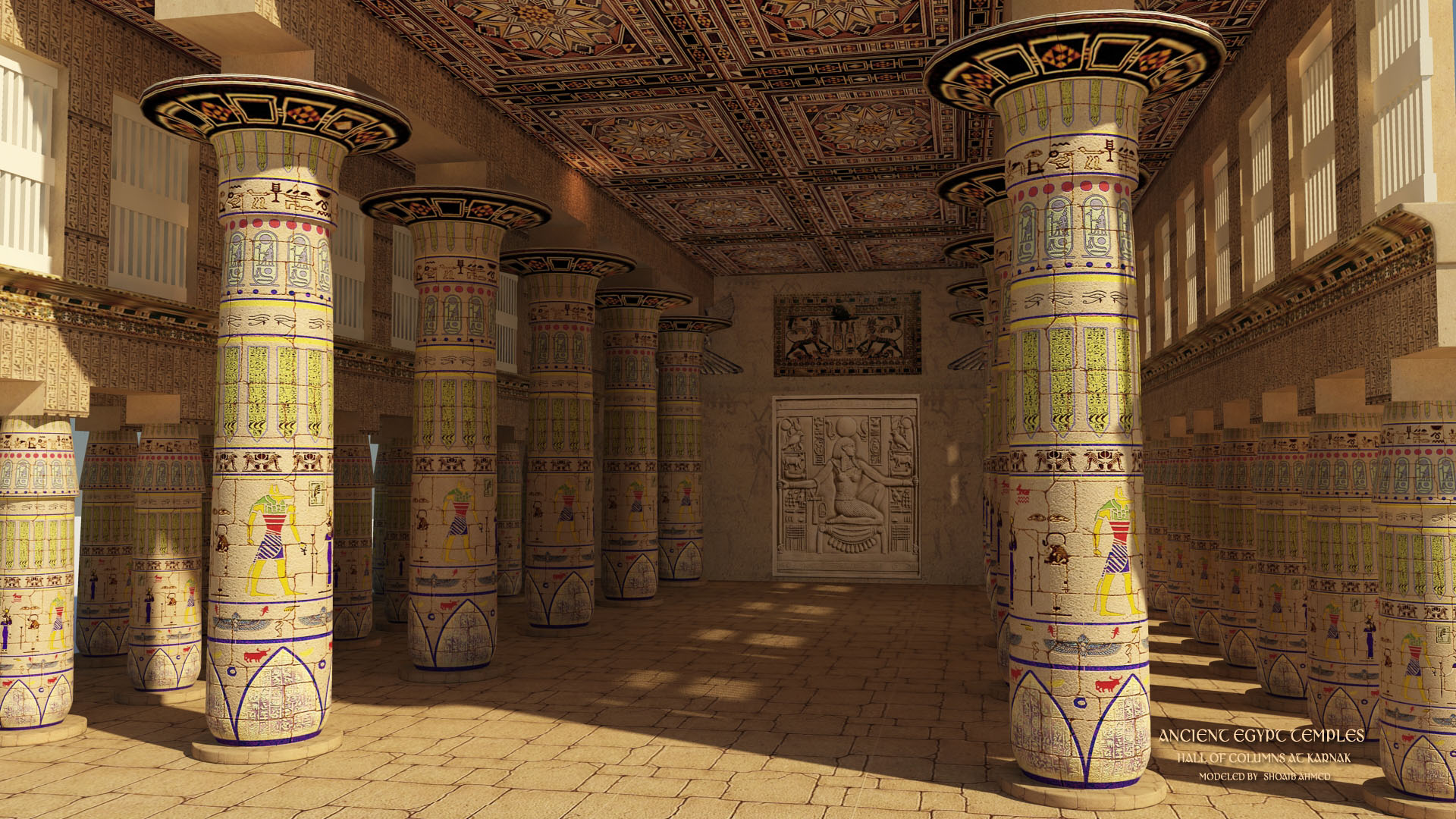 Ancient Egyptian Wallpaper Page 1