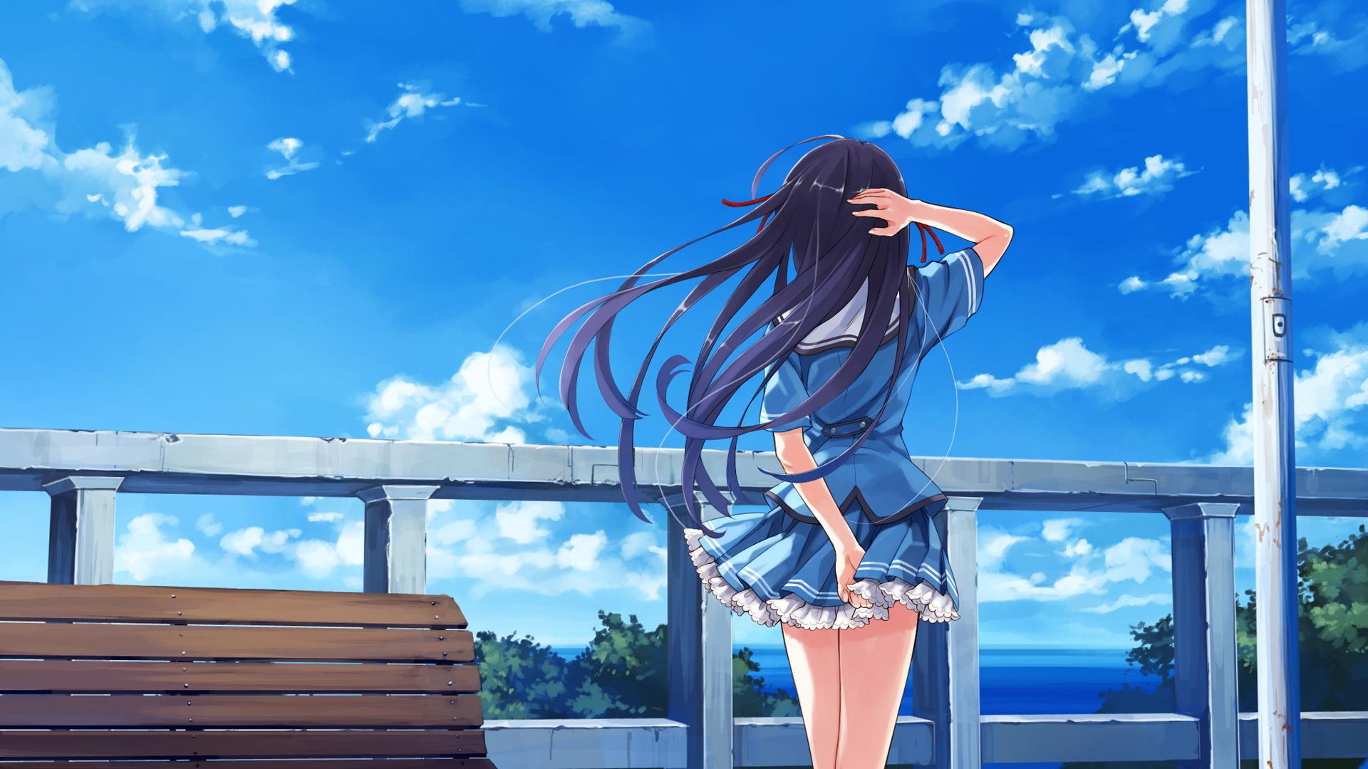 Anime Background HD 5987 1920 x 1080 - WallpaperLayer com