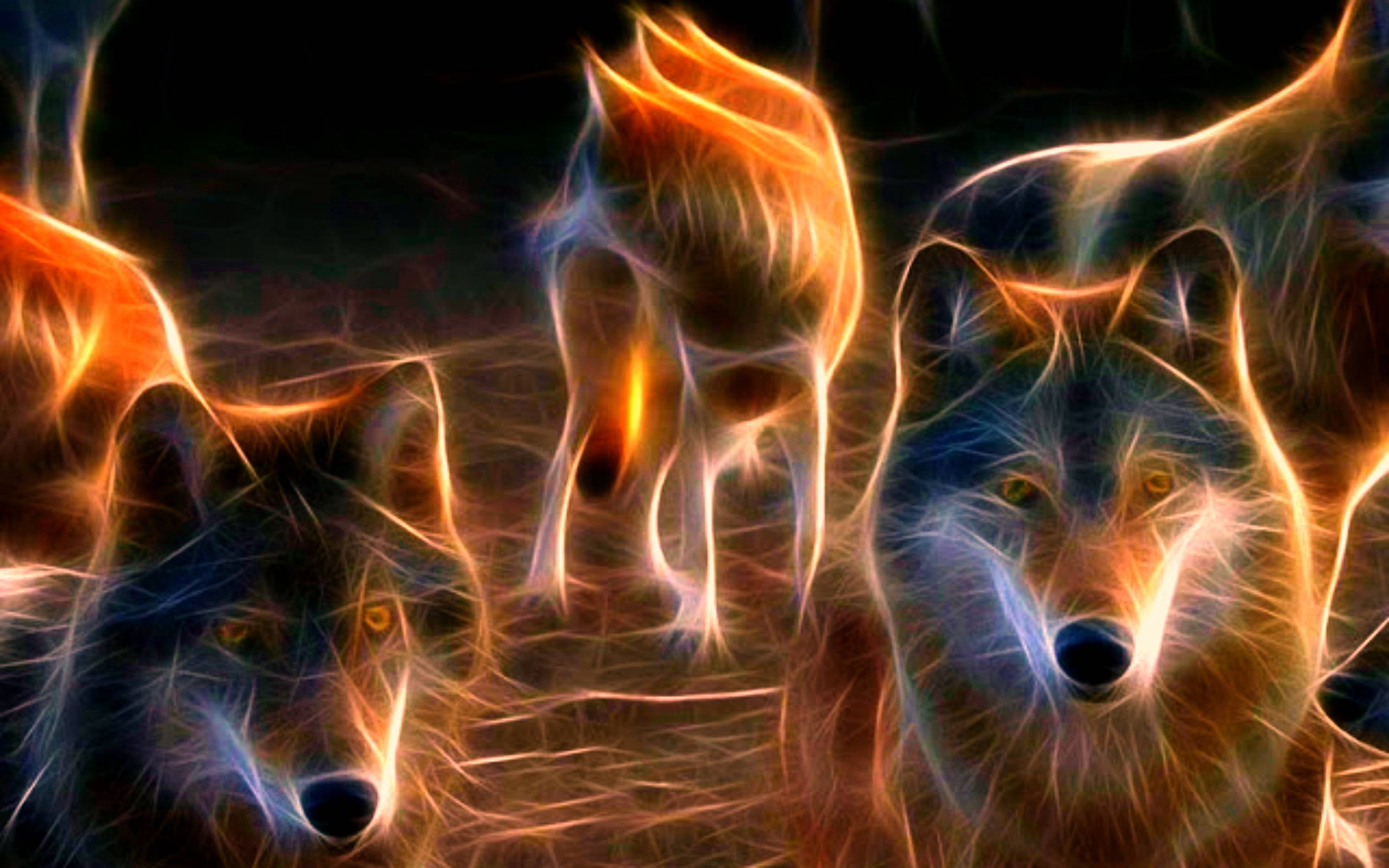 Animated Wolf Wallpapers Group (65+)