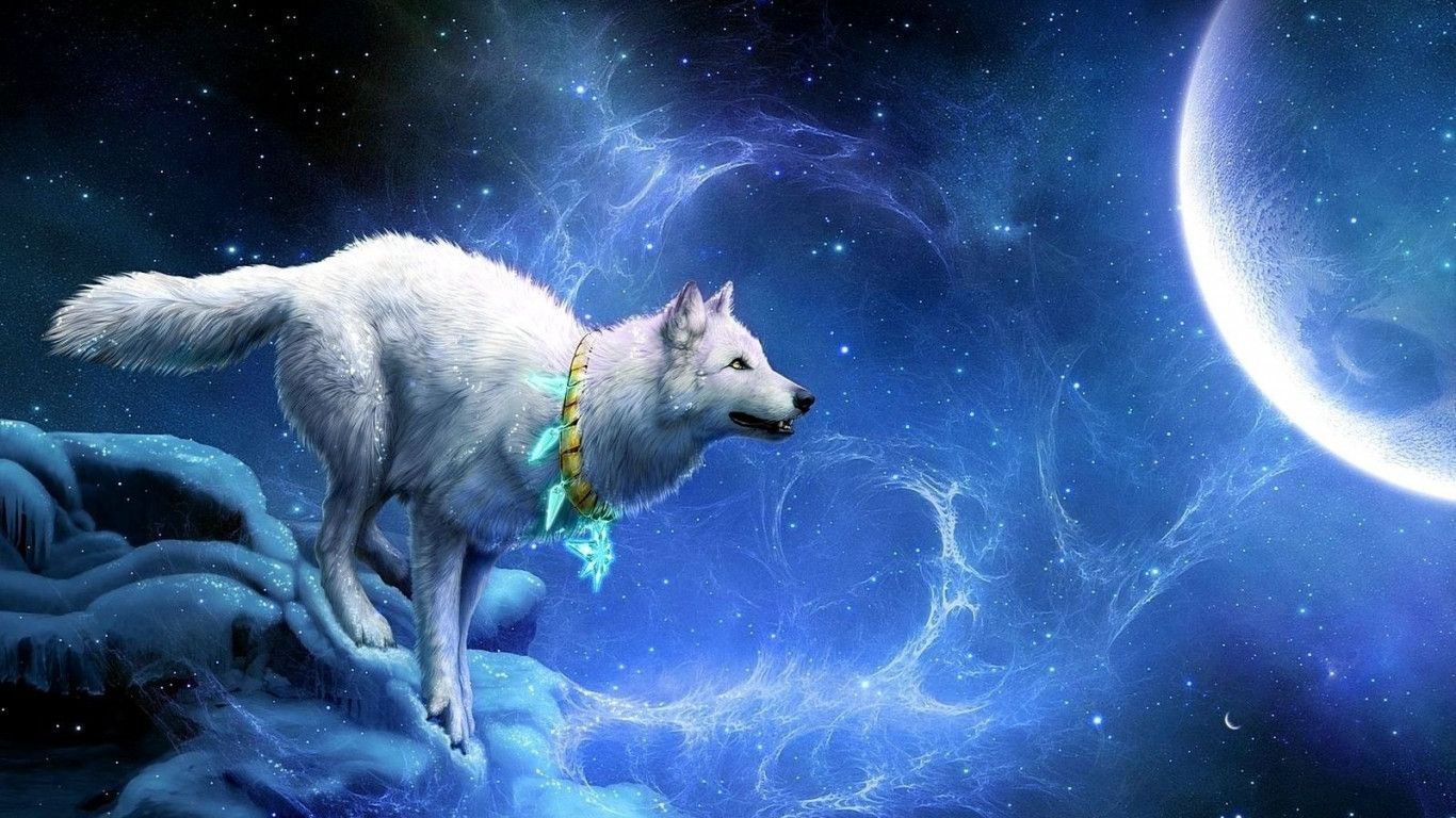Anime Wolf Wallpapers - Wallpaper Cave