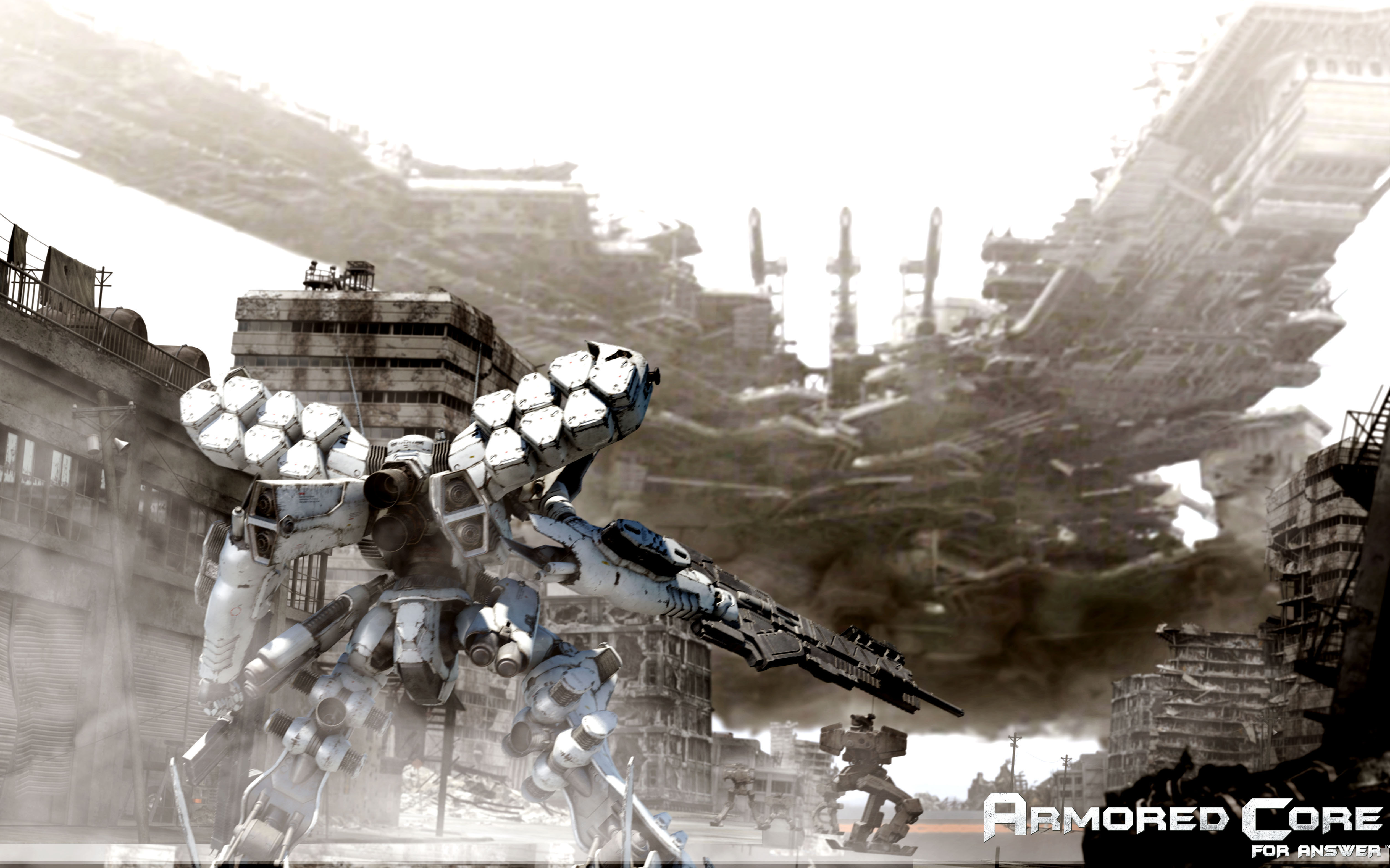 31 Armored Core HD Wallpapers | Backgrounds - Wallpaper Abyss