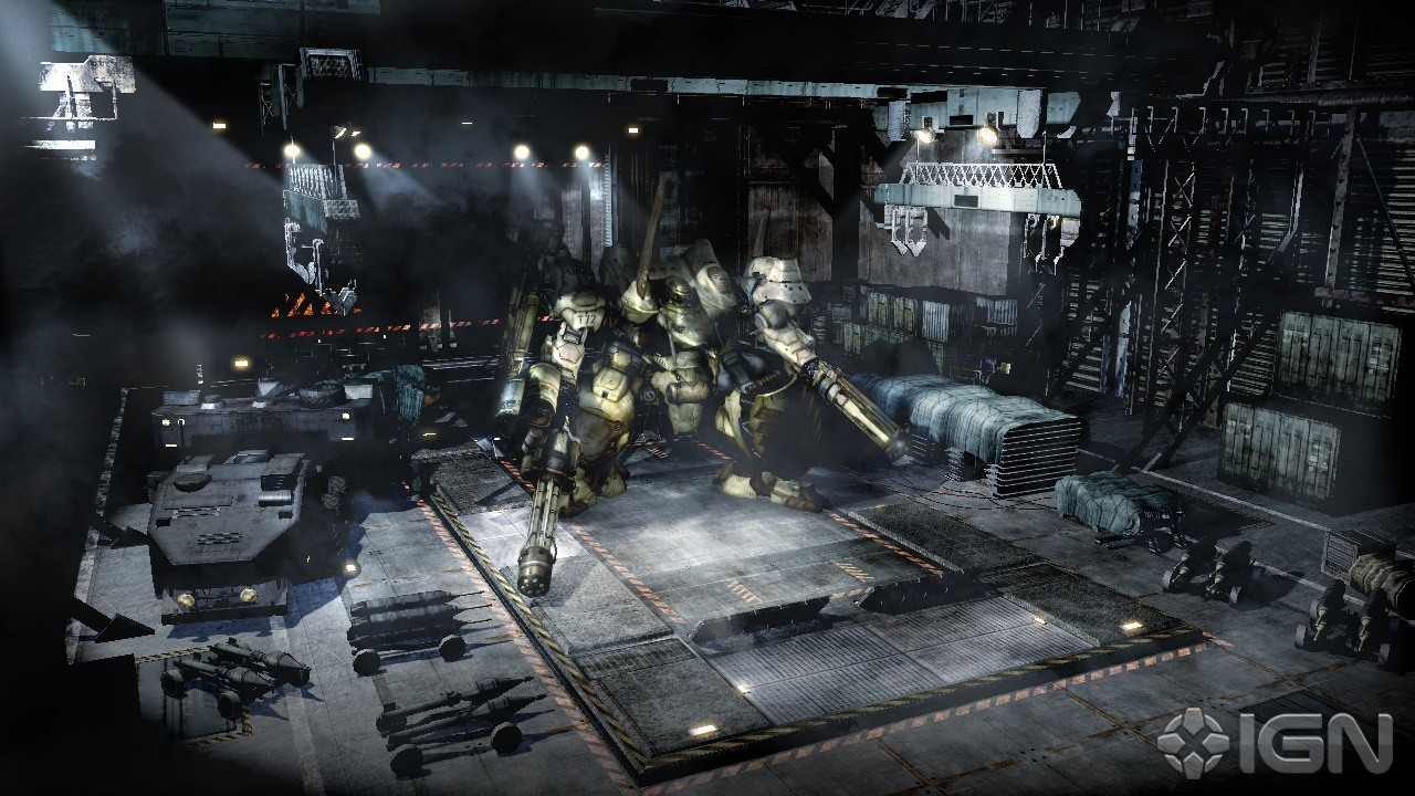 Armored Core 5 Screenshots, Pictures, Wallpapers - PlayStation 3 - IGN