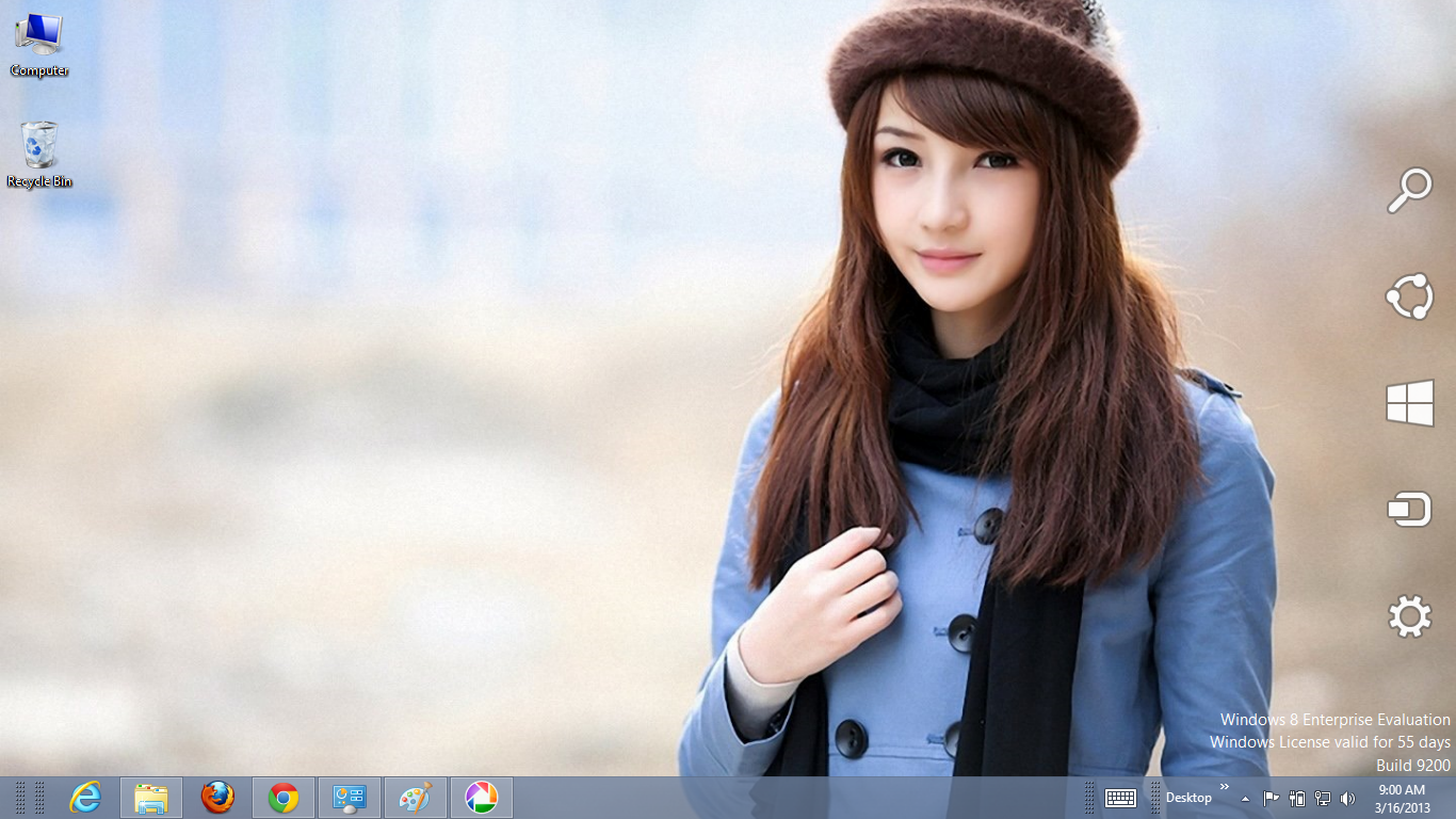 Cute Asian Girls Theme For Windows 8 | Ouo Themes