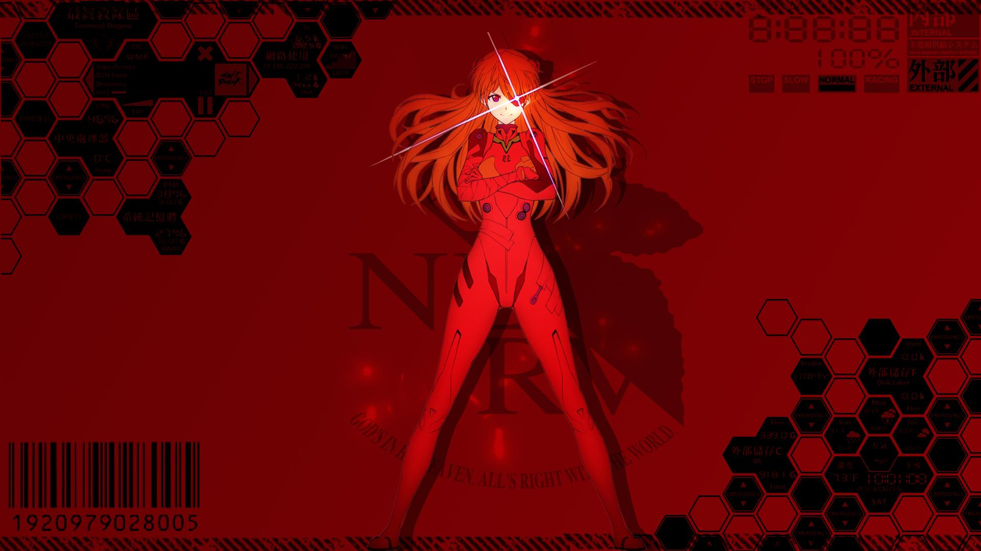 Asuka Langley Soryu Wallpaper by astro-pimp on DeviantArt