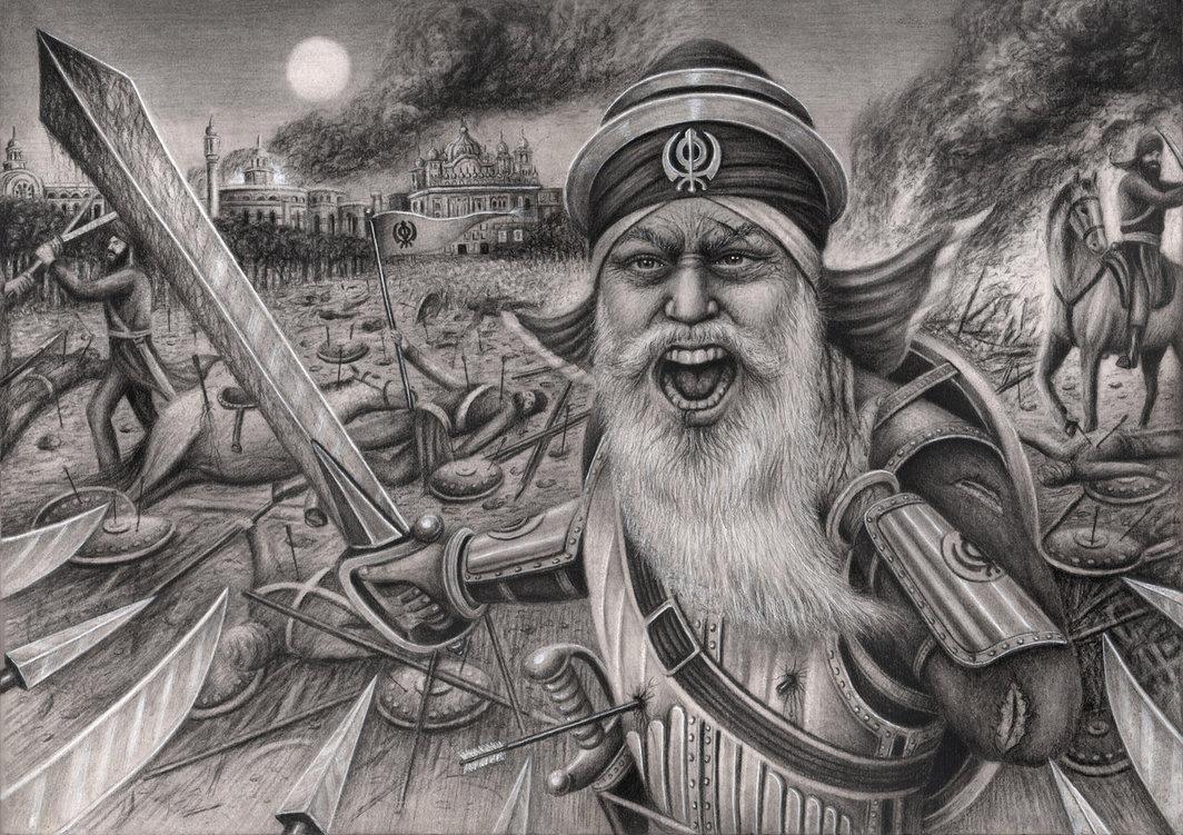 Baba Deep Singh Ji' by Pen-Tacular-Artist on DeviantArt