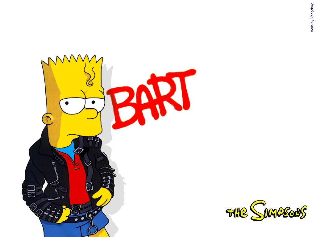 Bart simpson backgrounds Group (70+)