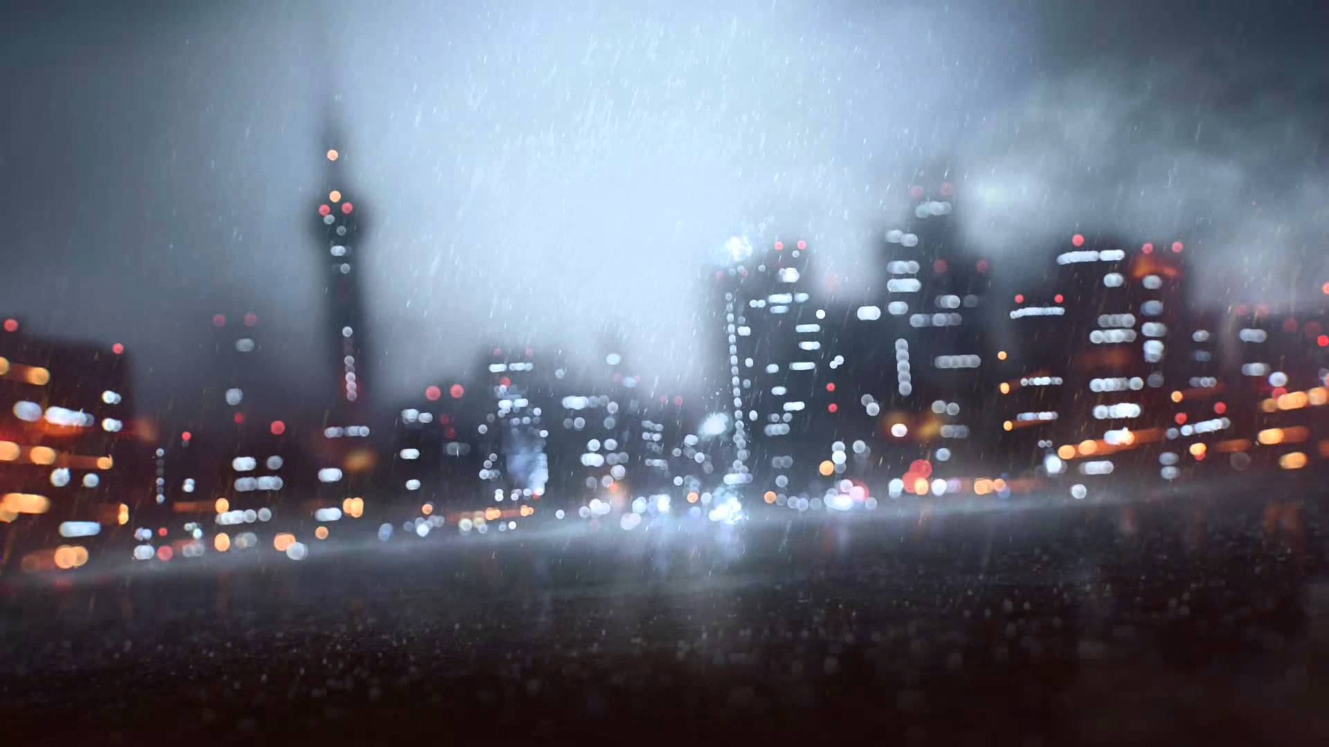 Battlefield 4 Rain Background [HD] [Free Download] Animated - YouTube